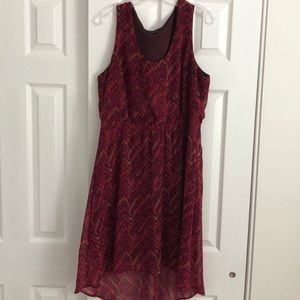 Mossimo high-low dress size xl